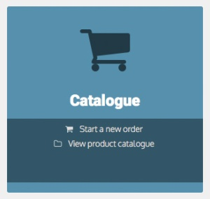 Print products catalogue