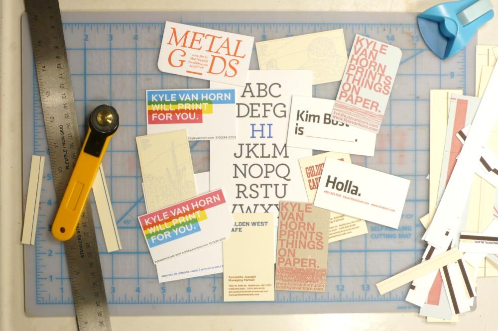 Postcard printing and design