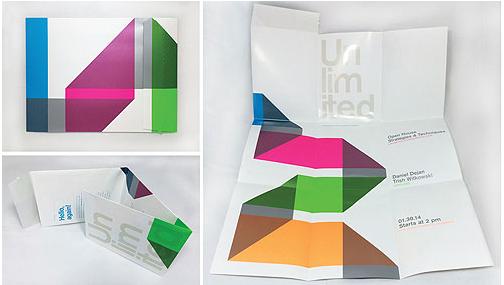 folded leaflet printing