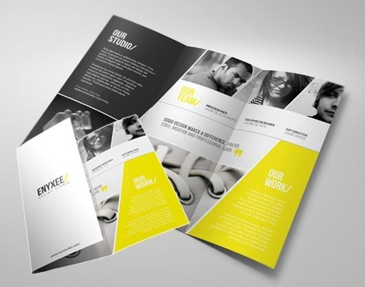 printing press brochure template - 3 tips to save money on print advertising